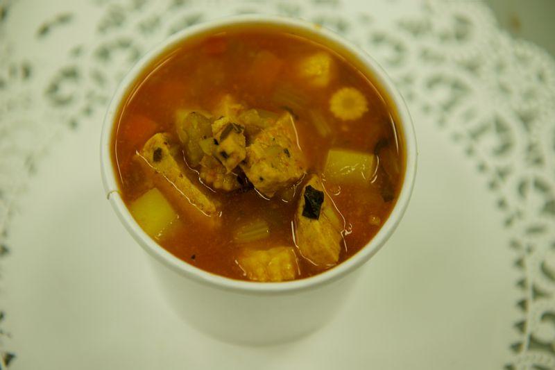 Egg-Lemon Chicken Soup