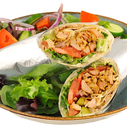 Chicken Shish Kebab Wrap Df Bostonkebabhouse