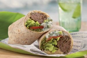 "Kofte kebab wrap <span class=""df"">DF</span>"