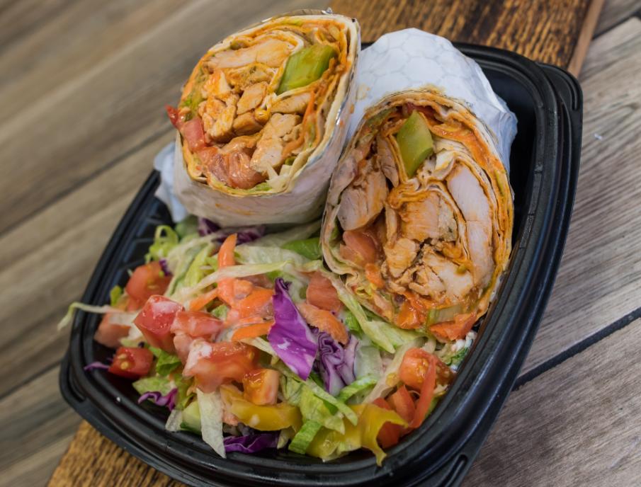 Texas Buffalo Chicken Wrap