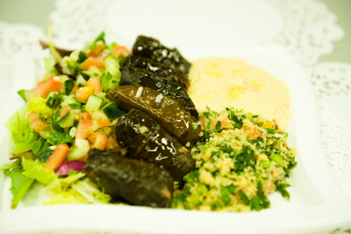 """You are currently viewing Grape Leaves Entree <span class=""""gf"""">GF</span>, <span class=""""v"""">VG</span>"""