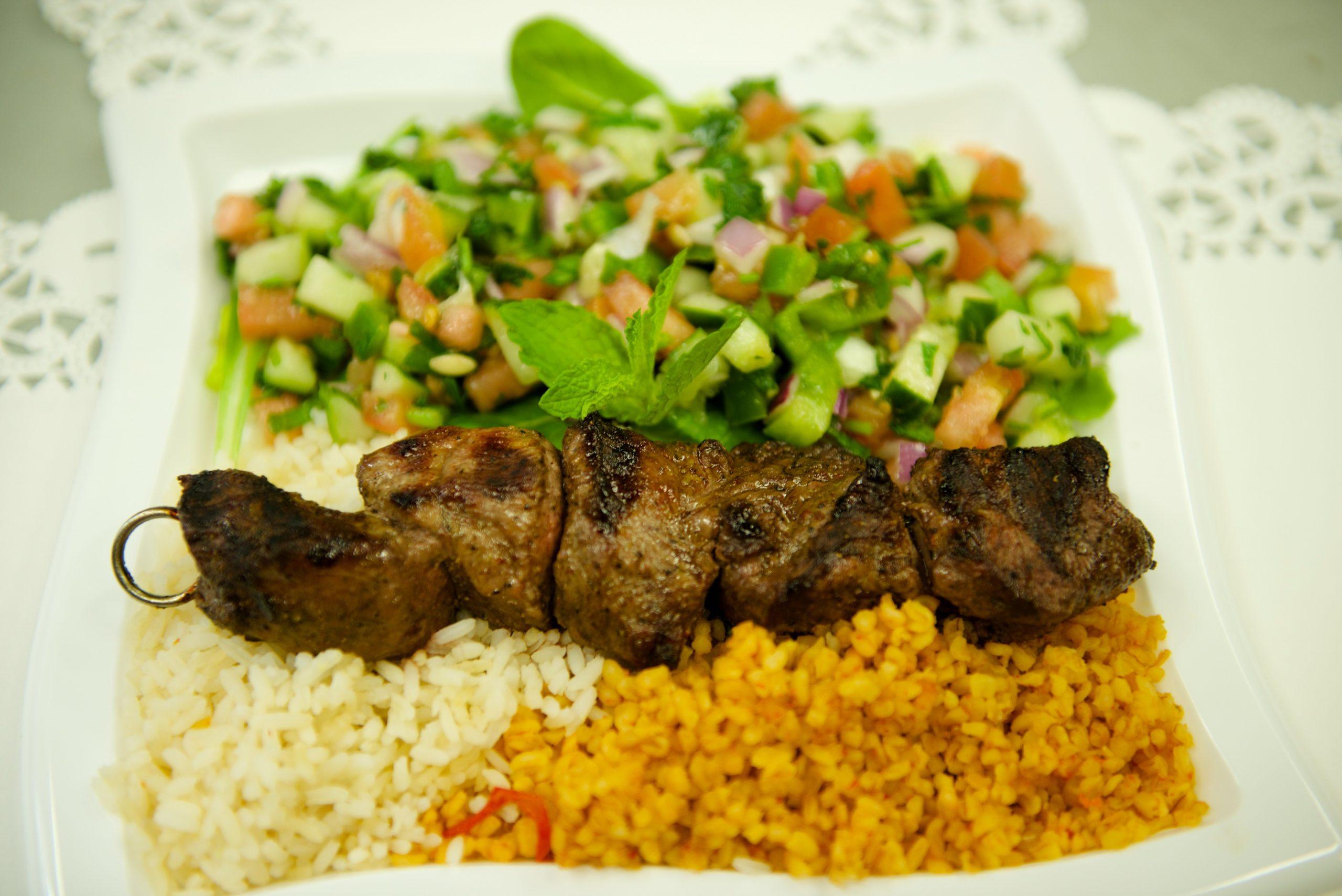 "You are currently viewing Lamb shish kebab <span class=""gf"">GF</span>"