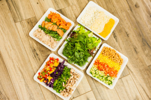 Tossed Salad Buffet: 12-19 people