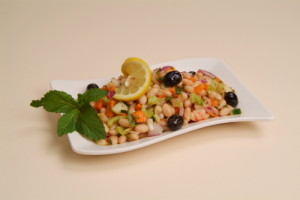 """Read more about the article White Bean Salad <span class=""""gf"""">GF</span>, <span class=""""df"""">DF</span>, <span class=""""v"""">VG</span>"""