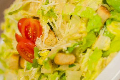 """Caesar Salad <span class=""""v"""">V</span>"""