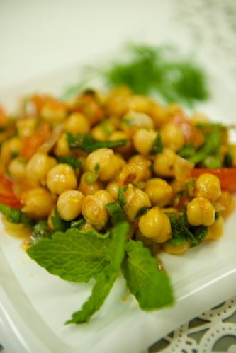 "Chick Pea Salad <span class=""gf"">GF</span> <span class=""df"">DF</span> <span class=""v"">VG</span>"