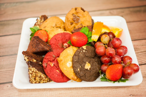Cookie & Fruit Platter