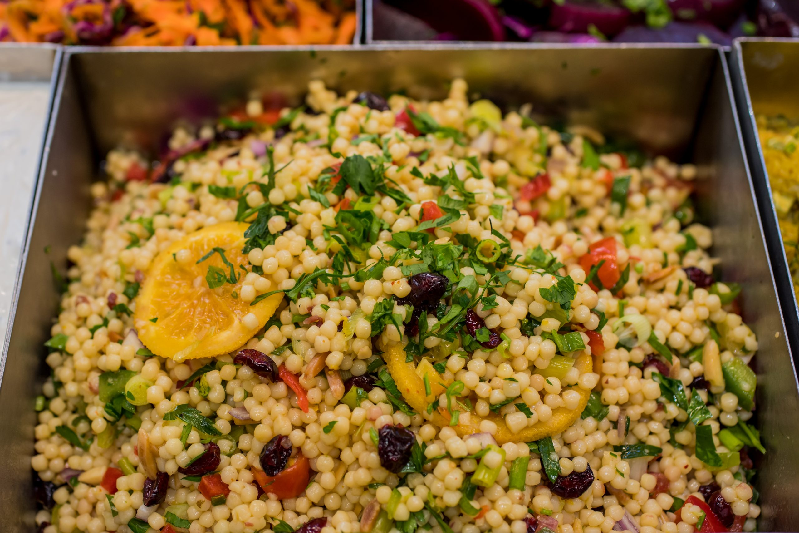 """You are currently viewing Couscous Salad <span class=""""df"""">DF</span> <span class=""""v"""">VG</span>"""