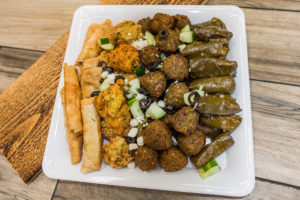 """Finger Food Platter <span class=""""v"""">V</span>"""
