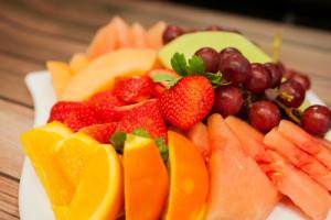 Sliced Fresh Fruit Platter