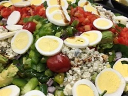 """Spinach Salad <span class=""""gf"""">GF</span> <span class=""""n"""">N</span>"""