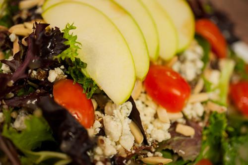 """Apple quinoa <span class=""""gf"""">GF</span> <span class=""""n"""">N</span> <span class=""""v"""">V</span>"""