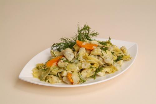 """Artichoke Salad <span class=""""gf"""">GF</span> <span class=""""df"""">DF</span> <span class=""""v"""">VG</span>"""