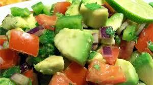 "Avocado Salad <span class=""gf"">GF</span> <span class=""df"">DF</span> <span class=""v"">VG</span>"