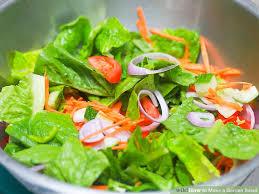 "Garden Salad <span class=""gf"">GF</span> <span class=""df"">DF</span> <span class=""v"">VG</span>"