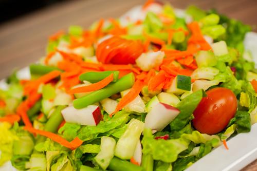 """Garden Vegetables <span class=""""gf"""">GF</span> <span class=""""df"""">DF</span> <span class=""""v"""">V</span>"""
