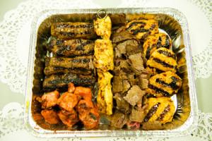Kebab only platter #2