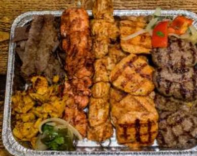 Kebab Meat Only Platter