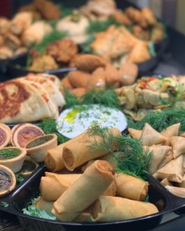 Asian  Finger Food Platter