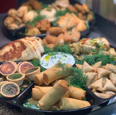 Asian  Finger Food Platter