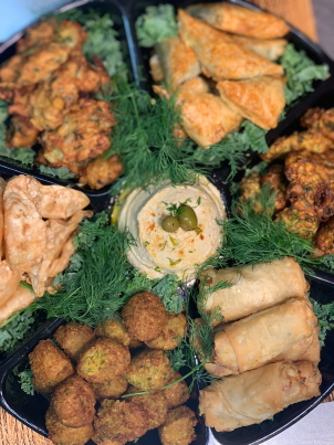 You are currently viewing Mediterranean Finger Food Platter